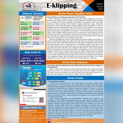 E-Kliping Perpustakaan Bank Indonesia Tasikmalaya Edisi 15 Juni 2021