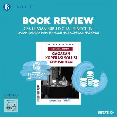 BOOK REVIEW: Seri Pemimpin Bangsa - Mohammad Hatta: Gagasan Koperasi Solusi Kemiskinan