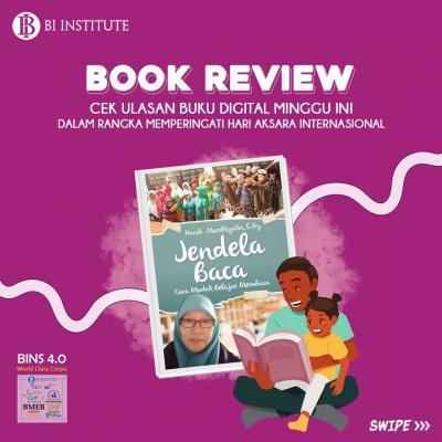 BOOK REVIEW: Jendela Baca: Cara Mudah Belajar Membaca