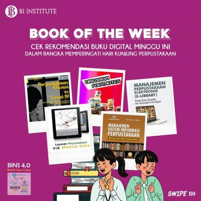 BOOK OF THE WEEK (14 September 2021)