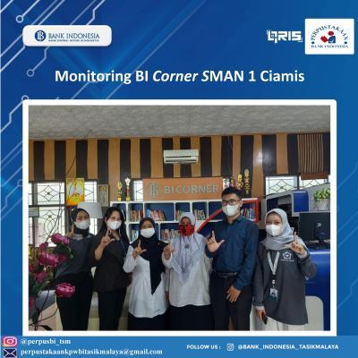 Monitoring BI Corner dan Sharing Informasi Keliterasian di Wilayah Priangan Timur