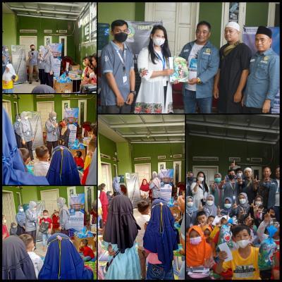 Hibah Buku Perpustakaan Bank Indonesia Tasikmalaya X GenTeach Genbi Universitas GALUH